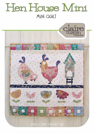Henhouse - Mini Quilt