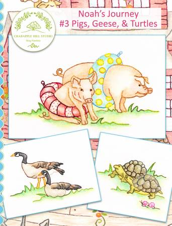 Noah's Journey #3 Pigs Geese and Turtles