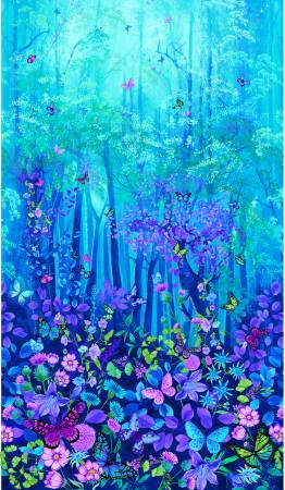 Blue Forest Magic Digital Panel 24in