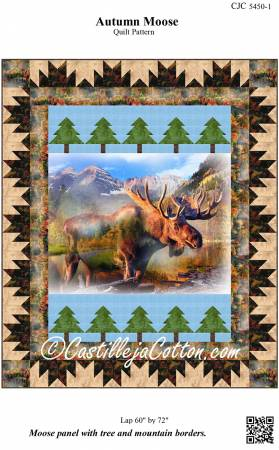 Autumn Moose Pattern