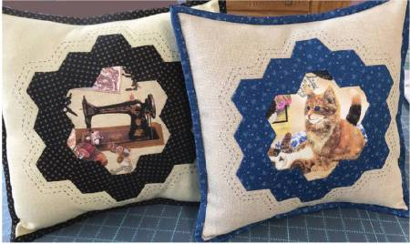Hexagon Frame Pillow