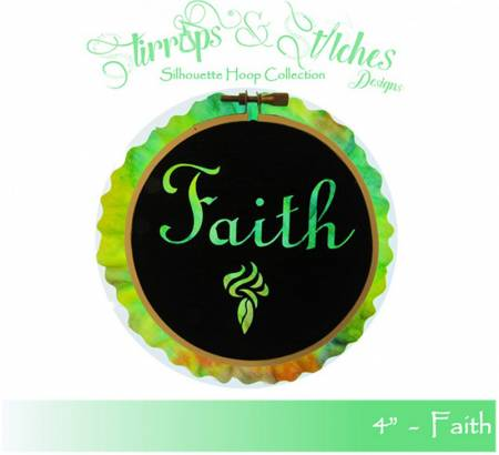 Faith 4in Hoop Kit