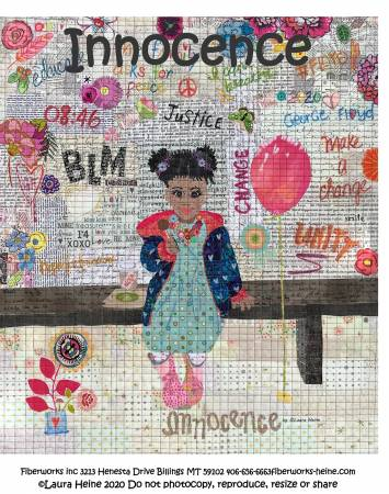 Innocence Collage Pattern by Laura Heine