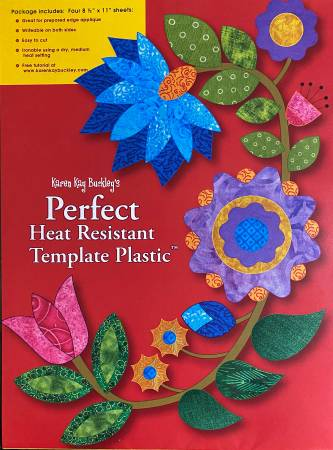 Karen Kay Buckley's Perfect Heat Resistant Template Plastic