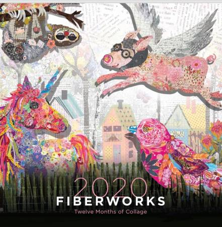 2020 Fiberworks Collage Calendar