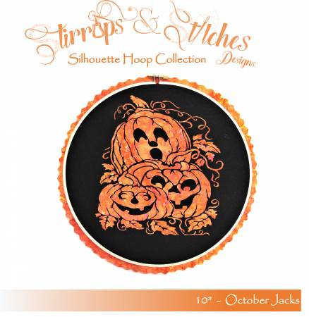 October Jacks 10 inch Hoop Kit