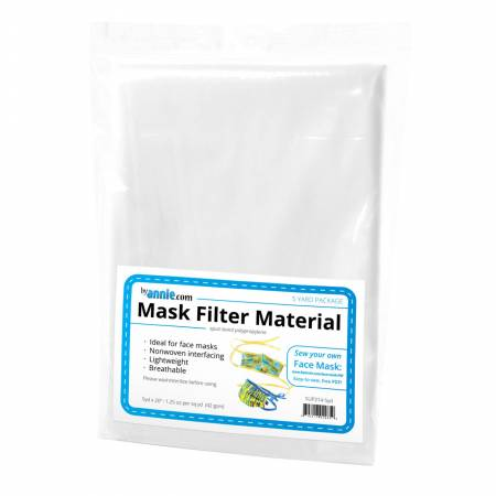 Mask Filter Material - 5yd x 20in