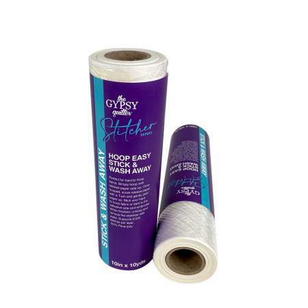 Hoop Easy Stick & Wash Away Stabilizer 10in x 10yds