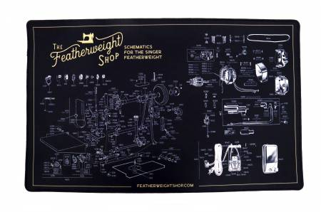 Featherweight Schematic Servicing Mat