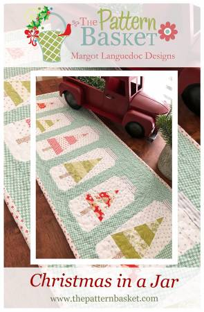Christmas Jars Table Runner
