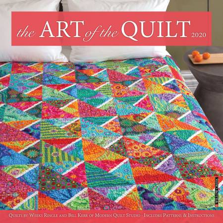 2020 Art Of The Quilt Wall Calendar