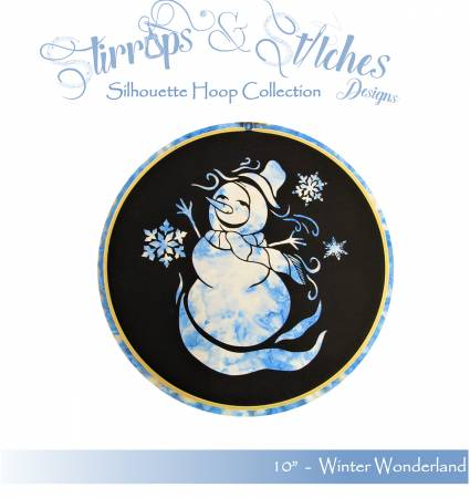 Winter Wonderland10 inch hoop kit