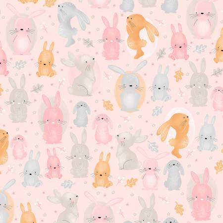 Pink Bunny Comfy Flannel