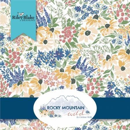 Rocky Mountain Wild 10in Squares, 42pcs, 3 bundles/pack