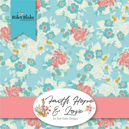 Faith Hope And Love 10in Squares, 42pcs, 3 bundles/pack