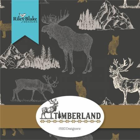 Timberland 10in Squares, 42pcs, 3 bundles/pack