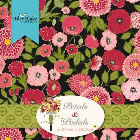 Petals And Pedals 10in Squares, Petals & Pedals, 42pcs/bundle