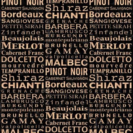 Black Wine Words