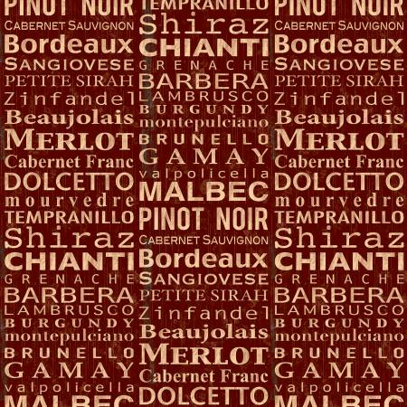 Red Wine Words