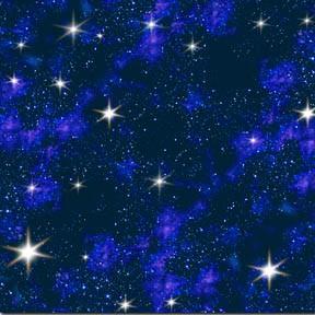 Blue galaxy by robinson howard for Galaxy fabric canada