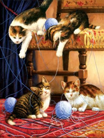 Balls of Yarn Puzzle 500pc