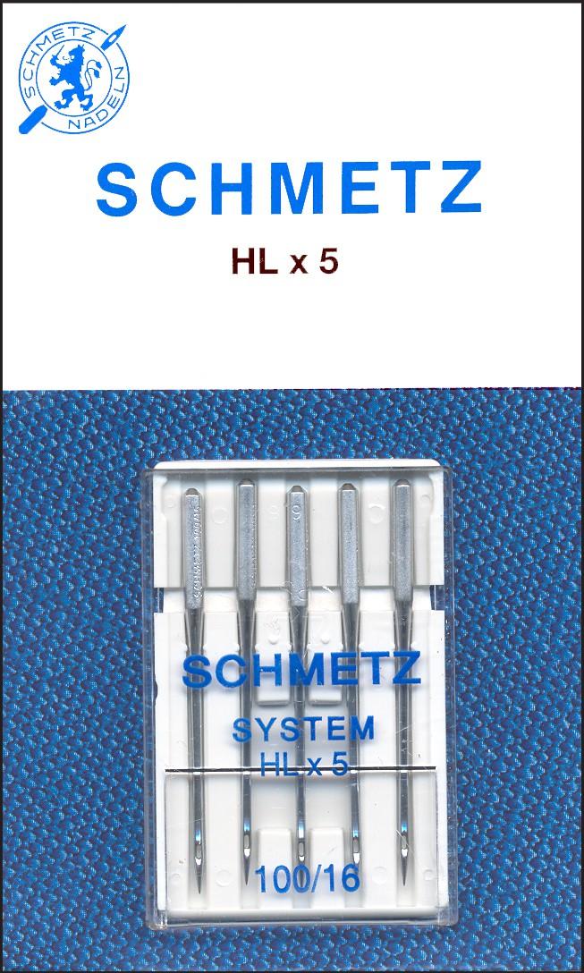Schmetz 1841 Machine Needle Hxl5 Size 11//75