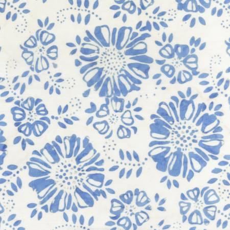 Blue Flowers Batik
