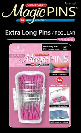 Magic Pins Extra Long Regular 50pc