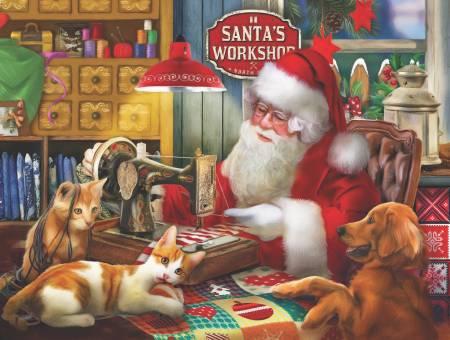 Santas Quilting Workshop 300pc