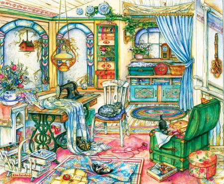 My Sewing Room 1000pc Puzzle