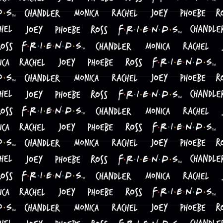 FRIENDS Character Names
