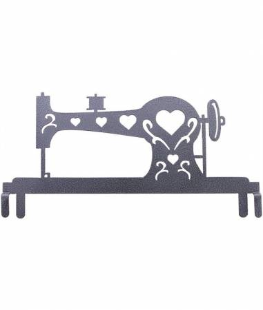 12in Sewing Machine Header Charcoal