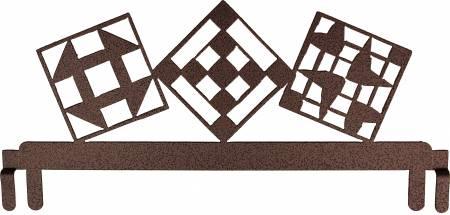 12in Quilt Block Header Copper