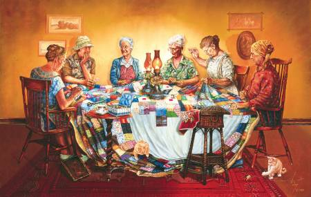 A Quilting Party 550pc