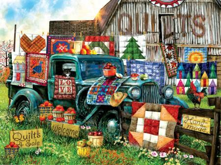 Quilts For Sale Puzzle 1000pc