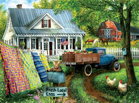 Country Side Living 1000pc Puzzle