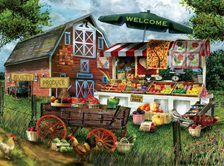 Fresh Country Produce 1000pc puzzle