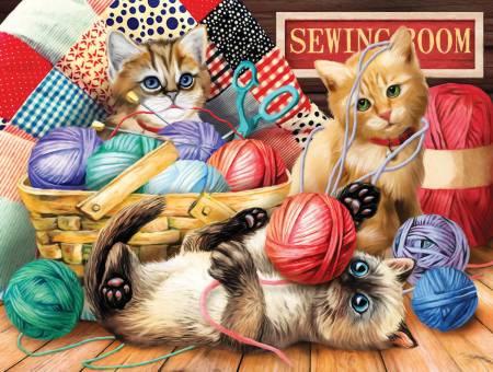 Kitties Fun Time Puzzle 500pc