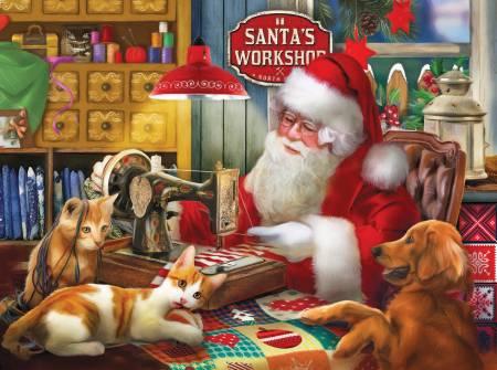 Santas Quilting Workshop 1000pc