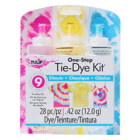 Tulip One Step 3 Color Tie-Dye Kit Classic