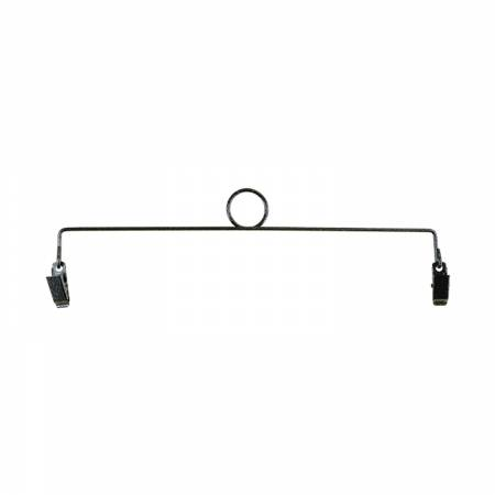 12in Ring Clip Holder Charcoal