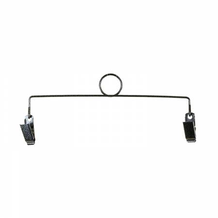 8in Ring Clip Holder Charcoal