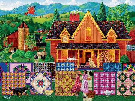 Morning Day Quilt 500pc