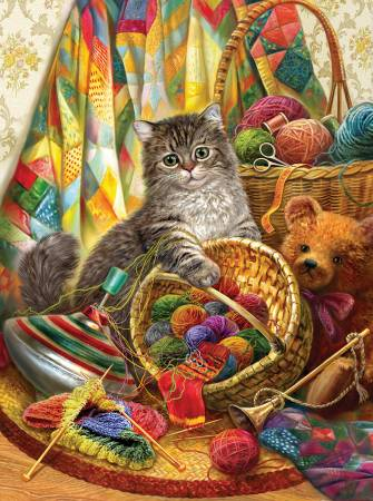 Kitten and Wool 1000pc