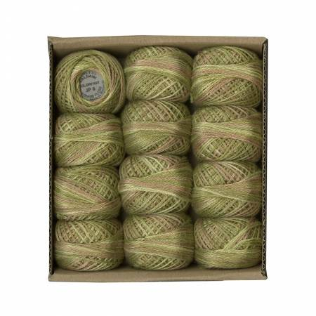 Valdani 3 Strand Ball Floss 30yd Spring Leaves
