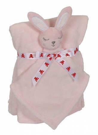 Bunny Blankey Buddy Set Pink