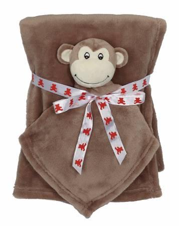 Monkey Blankey Buddy Set