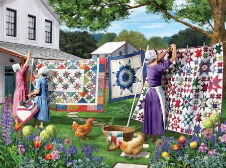 Quilts in the Backyard 500pc
