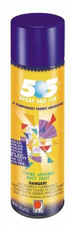 505 Spray & Fix Temporary Repositionable Fabric Adhesive 12.4oz (ORMD)
