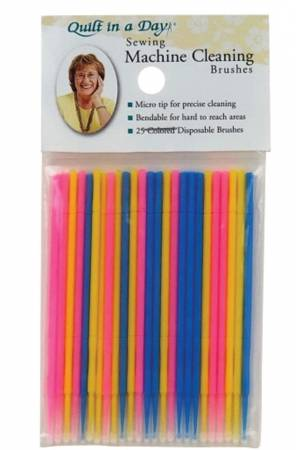 Sewing Machine Cleaning Brushes 25ct
